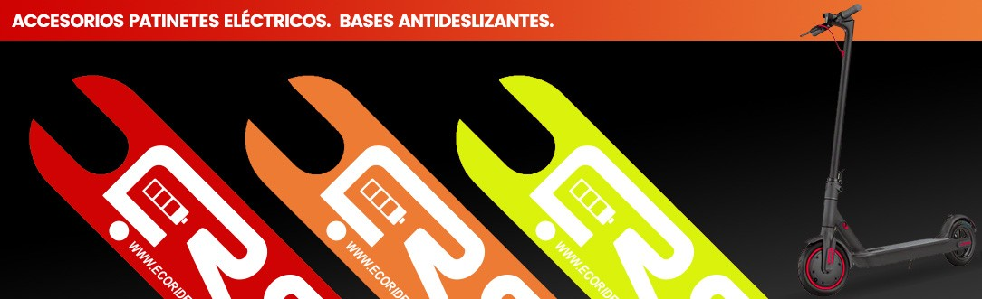 Bases Antideslizantes Patinetes Eléctricos